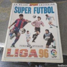 Collezionismo sportivo: MUNDICROMO FICHAS DE LA LIGA 96 (ALBUM COMPLETÍSIMO CON MAS DE 400 CROMOS Y MÁS DE 400 REPETIDOS ). Lote 240823560