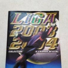 Coleccionismo deportivo: ÁLBUM INCOMPLETO LIGA 2003-2004 EDICIONES ESTE ( CON BASTANTES CROMOS ). Lote 241142990