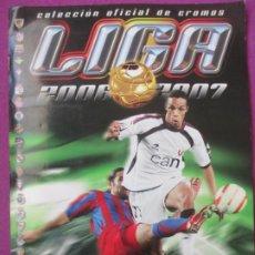Coleccionismo deportivo: ALBUM CROMOS FUTBOL LIGA 2006-2007 TIENE 541 CROMO ESTE COMPLETO O CASI COMPLETO SIN CROMO NOCILLA A. Lote 241906810