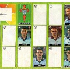 Coleccionismo deportivo: ALBUM DEL CHICLE LA LIGA DE LAS ESTRELLAS 96/97 / CELTA DE VIGO. Lote 243916190