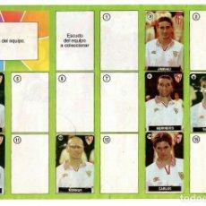 Coleccionismo deportivo: ALBUM DEL CHICLE LA LIGA DE LAS ESTRELLAS 96/97 / SEVILLA. Lote 243917370