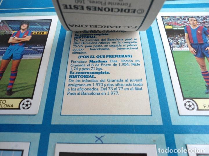Coleccionismo deportivo: LIGA 1979 79-80 - ED. ESTE - ALBUM DE CROMOS LIGA FUTBOL 1ª DIVISION - MUY BUEN ESTADO MUY COMPLETO - Foto 14 - 242815645