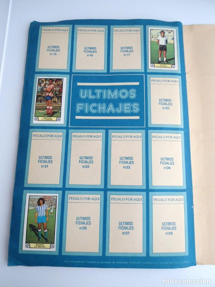 Coleccionismo deportivo: LIGA 1979 79-80 - ED. ESTE - ALBUM DE CROMOS LIGA FUTBOL 1ª DIVISION - MUY BUEN ESTADO MUY COMPLETO - Foto 30 - 242815645