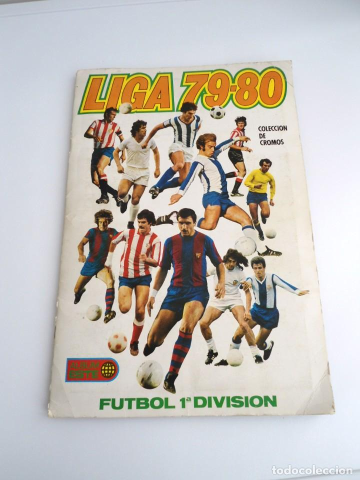 LIGA 1979 79-80 - ED. ESTE - ALBUM DE CROMOS LIGA FUTBOL 1ª DIVISION - MUY BUEN ESTADO MUY COMPLETO (Coleccionismo Deportivo - Álbumes y Cromos de Deportes - Álbumes de Fútbol Incompletos)