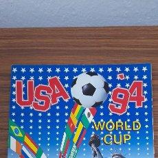 Coleccionismo deportivo: WORLD CUP USA 94 - 194 CROMOS PEGADO Y 50 NUNCA PEGADO. Lote 244442960
