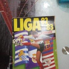 Colecionismo desportivo: ALBUM CROMOS ESTE 82 83 CROMO FUTBOL LIGA 1982 1983 - VACIO CROMOS DESPEGADOS. Lote 244707670