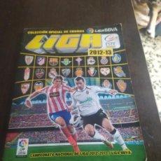 Coleccionismo deportivo: ALBUM CON 411 CROMOS EDICIONES ESTE 2012-13 LIGA 12-13. Lote 244713600