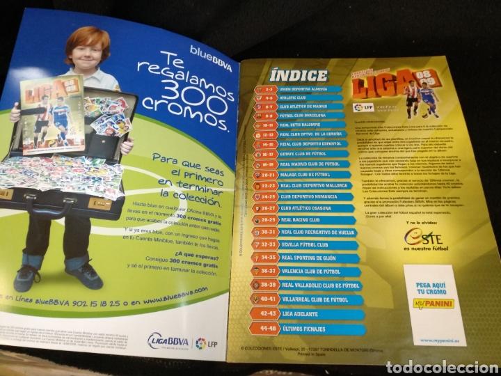 Coleccionismo deportivo: Álbum liga 2008-2009, incompleto - Foto 2 - 245949260