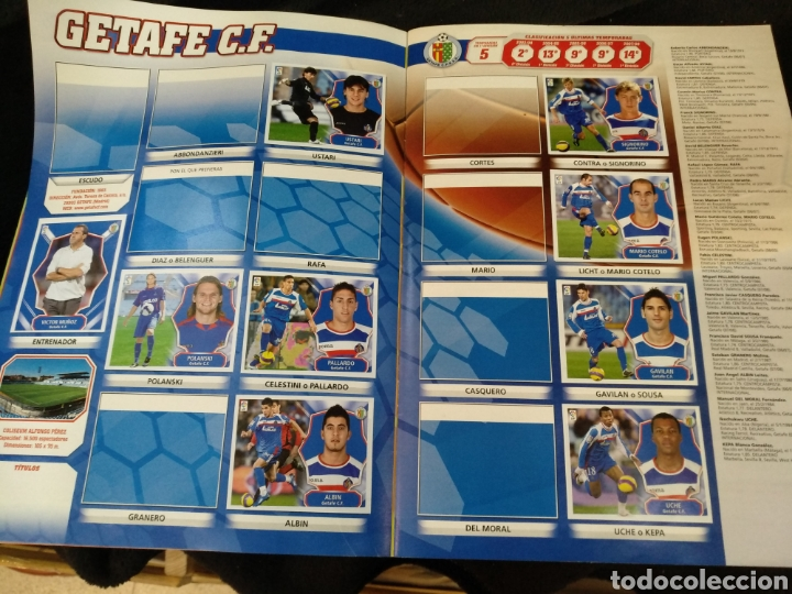 Coleccionismo deportivo: Álbum liga 2008-2009, incompleto - Foto 11 - 245949260