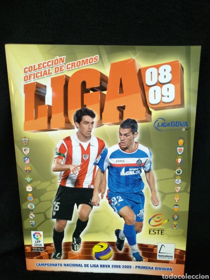 ÁLBUM LIGA 2008-2009, INCOMPLETO (Coleccionismo Deportivo - Álbumes y Cromos de Deportes - Álbumes de Fútbol Incompletos)