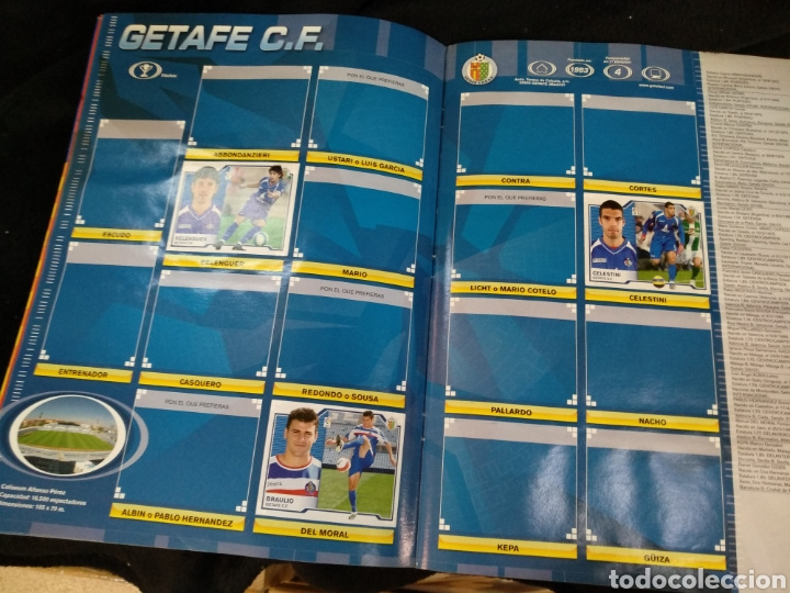 Coleccionismo deportivo: Álbum liga 2008-2009, incompleto - Foto 9 - 245949950