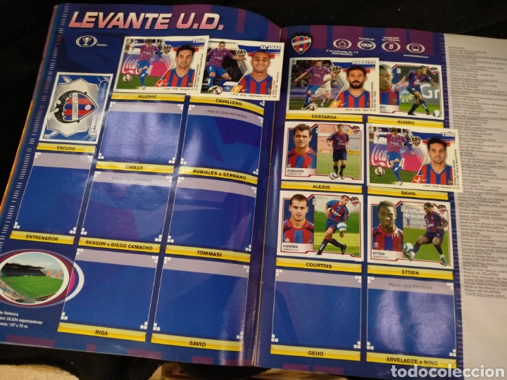 Coleccionismo deportivo: Álbum liga 2008-2009, incompleto - Foto 10 - 245949950