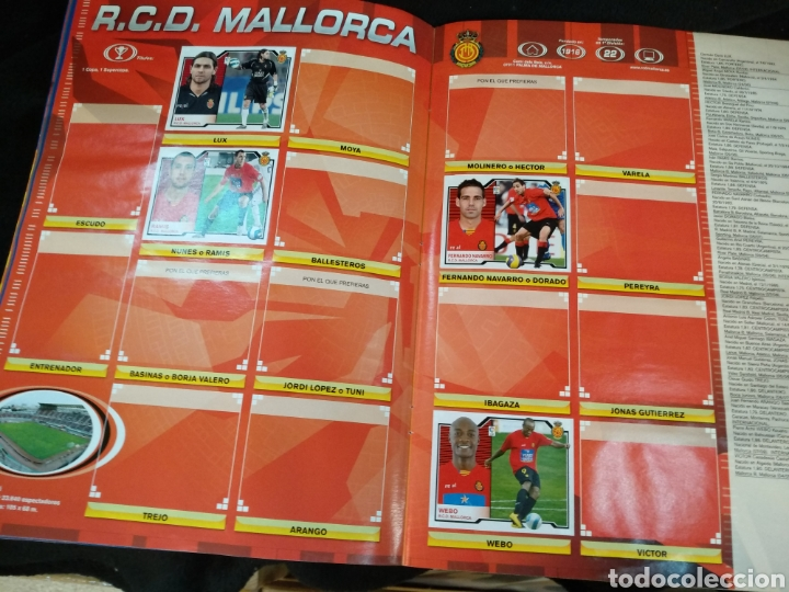 Coleccionismo deportivo: Álbum liga 2008-2009, incompleto - Foto 12 - 245949950
