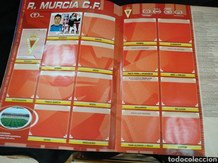 Coleccionismo deportivo: Álbum liga 2008-2009, incompleto - Foto 13 - 245949950