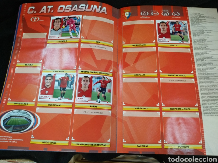 Coleccionismo deportivo: Álbum liga 2008-2009, incompleto - Foto 14 - 245949950