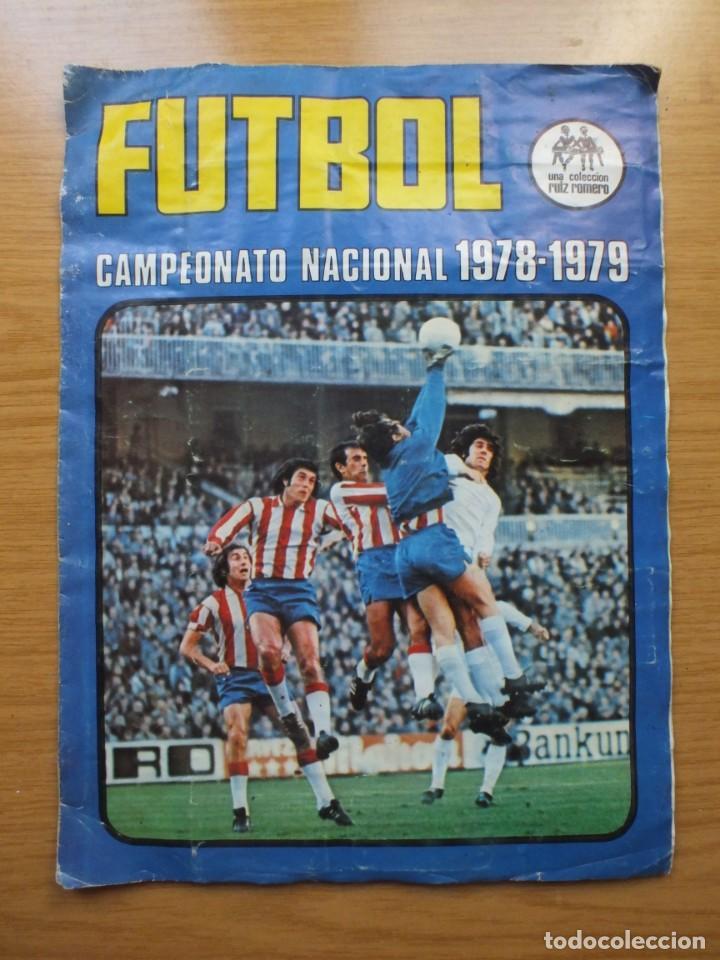 ANTIGUO ÁLBUM DE CROMOS CAMPEONATO LIGA DE FÚTBOL 1978-1979 78/79 78 79 EDITORIAL RUIZ ROMERO (Coleccionismo Deportivo - Álbumes y Cromos de Deportes - Álbumes de Fútbol Incompletos)