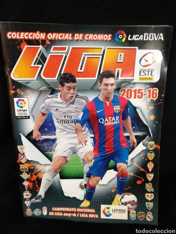 ÁLBUM LIGA 20015-16, INCOMPLETO (Coleccionismo Deportivo - Álbumes y Cromos de Deportes - Álbumes de Fútbol Incompletos)
