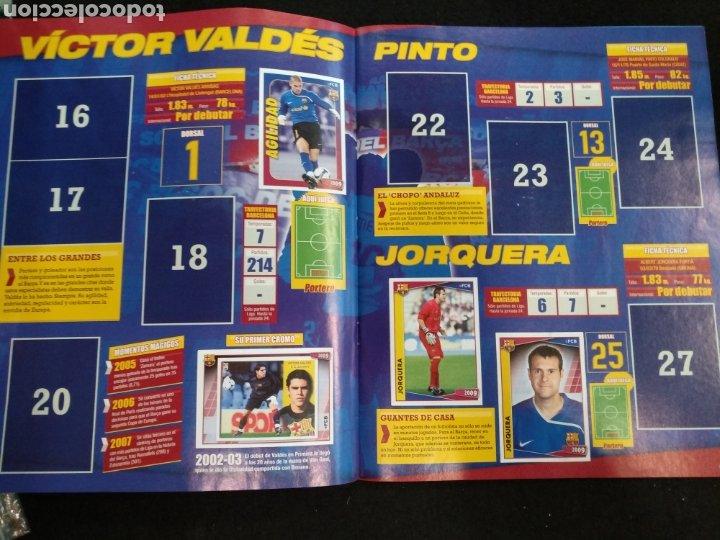 Coleccionismo deportivo: Álbum F.C Barcelona 2008-2009, incompleto con cromos de Messi - Foto 4 - 245963535