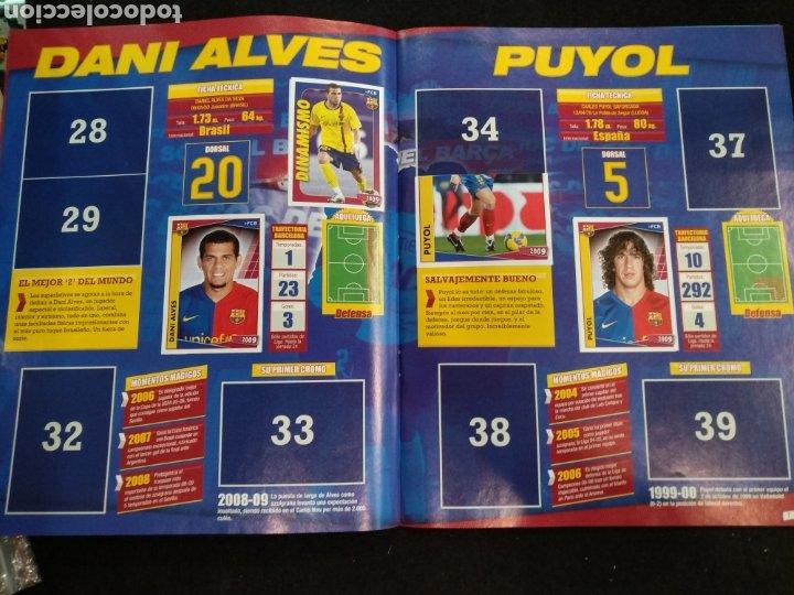 Coleccionismo deportivo: Álbum F.C Barcelona 2008-2009, incompleto con cromos de Messi - Foto 5 - 245963535