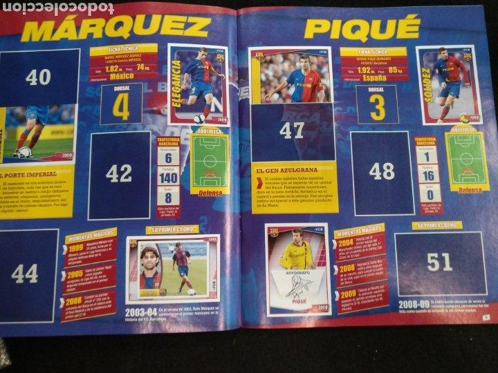 Coleccionismo deportivo: Álbum F.C Barcelona 2008-2009, incompleto con cromos de Messi - Foto 6 - 245963535