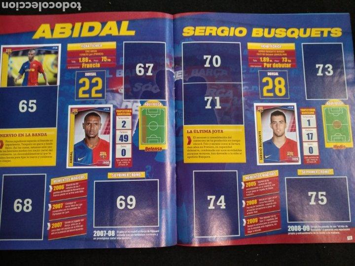 Coleccionismo deportivo: Álbum F.C Barcelona 2008-2009, incompleto con cromos de Messi - Foto 8 - 245963535