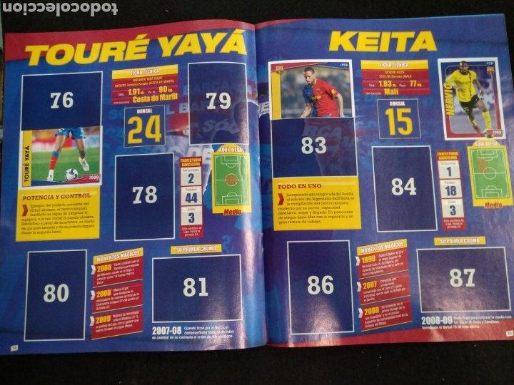 Coleccionismo deportivo: Álbum F.C Barcelona 2008-2009, incompleto con cromos de Messi - Foto 9 - 245963535