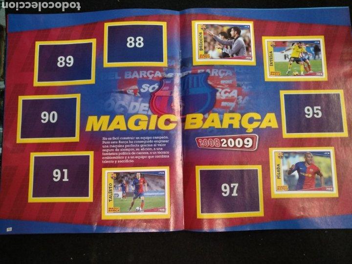 Coleccionismo deportivo: Álbum F.C Barcelona 2008-2009, incompleto con cromos de Messi - Foto 10 - 245963535