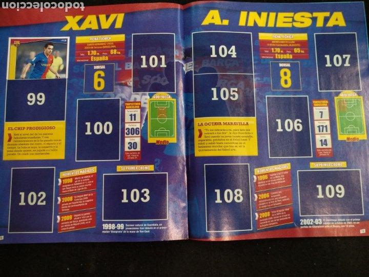 Coleccionismo deportivo: Álbum F.C Barcelona 2008-2009, incompleto con cromos de Messi - Foto 11 - 245963535