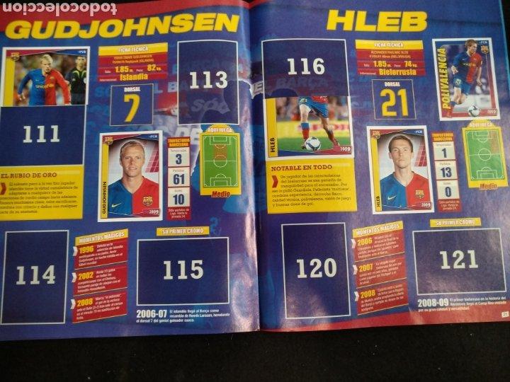Coleccionismo deportivo: Álbum F.C Barcelona 2008-2009, incompleto con cromos de Messi - Foto 12 - 245963535