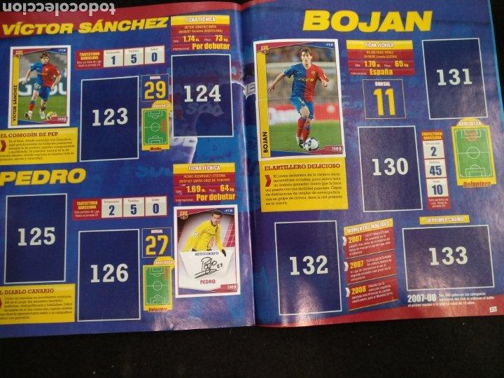 Coleccionismo deportivo: Álbum F.C Barcelona 2008-2009, incompleto con cromos de Messi - Foto 13 - 245963535