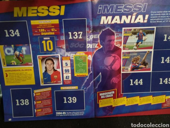 Coleccionismo deportivo: Álbum F.C Barcelona 2008-2009, incompleto con cromos de Messi - Foto 14 - 245963535