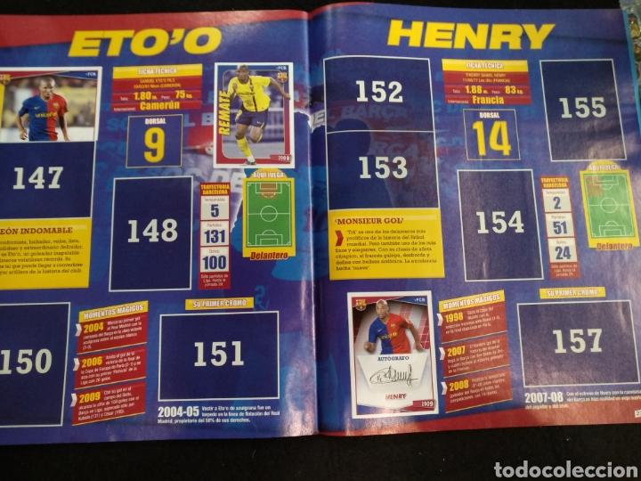 Coleccionismo deportivo: Álbum F.C Barcelona 2008-2009, incompleto con cromos de Messi - Foto 15 - 245963535