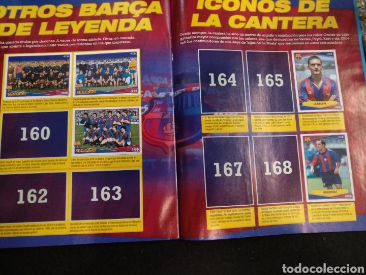Coleccionismo deportivo: Álbum F.C Barcelona 2008-2009, incompleto con cromos de Messi - Foto 16 - 245963535
