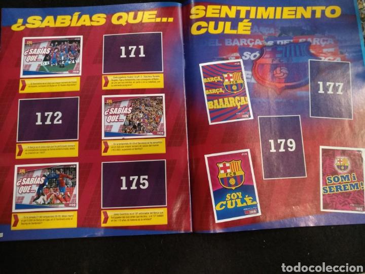 Coleccionismo deportivo: Álbum F.C Barcelona 2008-2009, incompleto con cromos de Messi - Foto 17 - 245963535