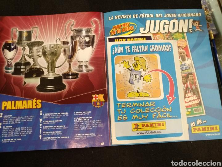 Coleccionismo deportivo: Álbum F.C Barcelona 2008-2009, incompleto con cromos de Messi - Foto 18 - 245963535