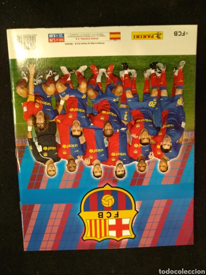 Coleccionismo deportivo: Álbum F.C Barcelona 2008-2009, incompleto con cromos de Messi - Foto 19 - 245963535