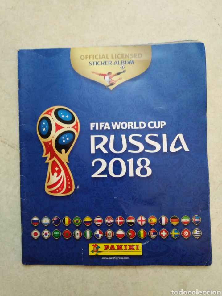 Coleccionismo deportivo: Lote de fifa World cup Russia 2018 ( observar fotos ) - Foto 7 - 246012650