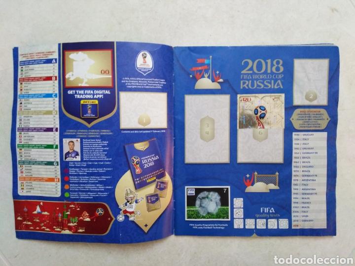 Coleccionismo deportivo: Lote de fifa World cup Russia 2018 ( observar fotos ) - Foto 8 - 246012650