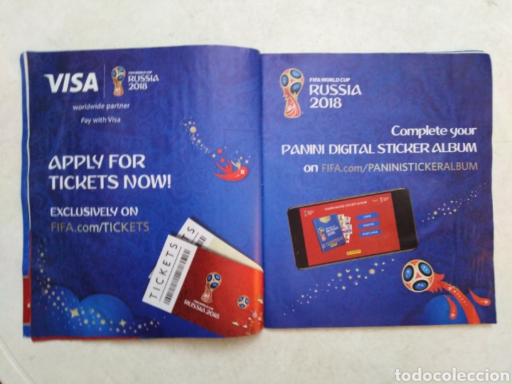 Coleccionismo deportivo: Lote de fifa World cup Russia 2018 ( observar fotos ) - Foto 11 - 246012650