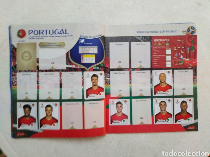 Coleccionismo deportivo: Lote de fifa World cup Russia 2018 ( observar fotos ) - Foto 17 - 246012650