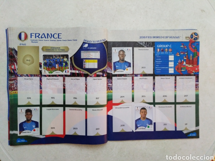 Coleccionismo deportivo: Lote de fifa World cup Russia 2018 ( observar fotos ) - Foto 21 - 246012650