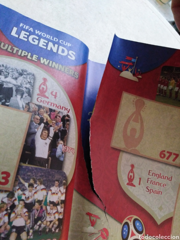 Coleccionismo deportivo: Lote de fifa World cup Russia 2018 ( observar fotos ) - Foto 48 - 246012650