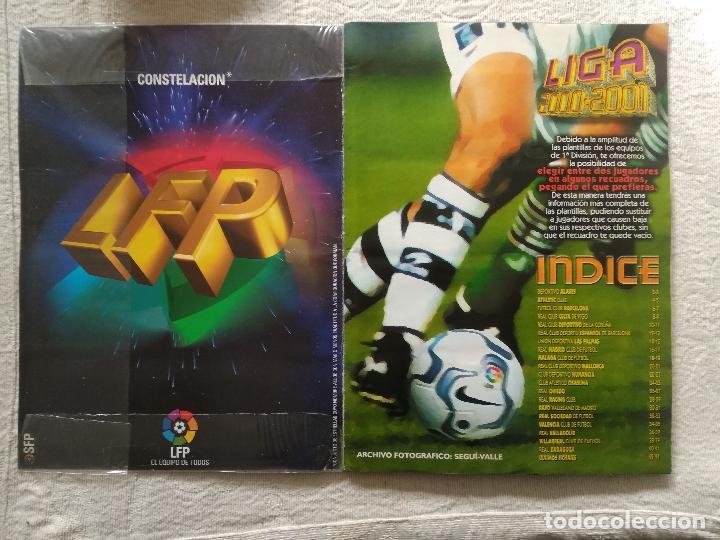 Coleccionismo deportivo: ALBUM CASI COMPLETO EDICIONES ESTE LIGA 00 01 2000 2001 VER FOTOS COMPLETAS - Foto 2 - 246039410