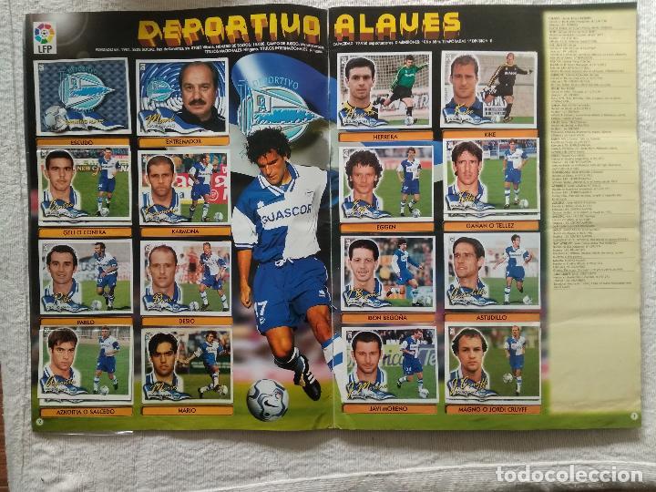 Coleccionismo deportivo: ALBUM CASI COMPLETO EDICIONES ESTE LIGA 00 01 2000 2001 VER FOTOS COMPLETAS - Foto 3 - 246039410