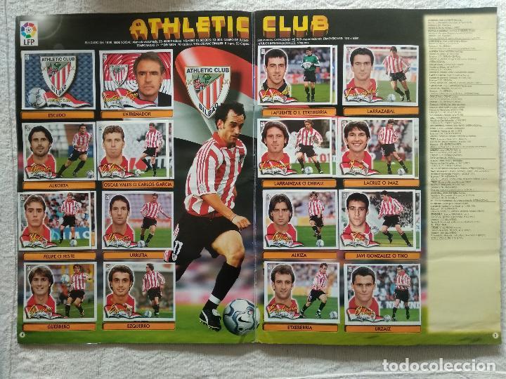 Coleccionismo deportivo: ALBUM CASI COMPLETO EDICIONES ESTE LIGA 00 01 2000 2001 VER FOTOS COMPLETAS - Foto 4 - 246039410