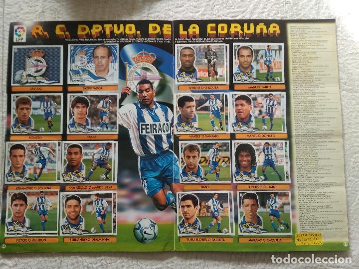 Coleccionismo deportivo: ALBUM CASI COMPLETO EDICIONES ESTE LIGA 00 01 2000 2001 VER FOTOS COMPLETAS - Foto 7 - 246039410
