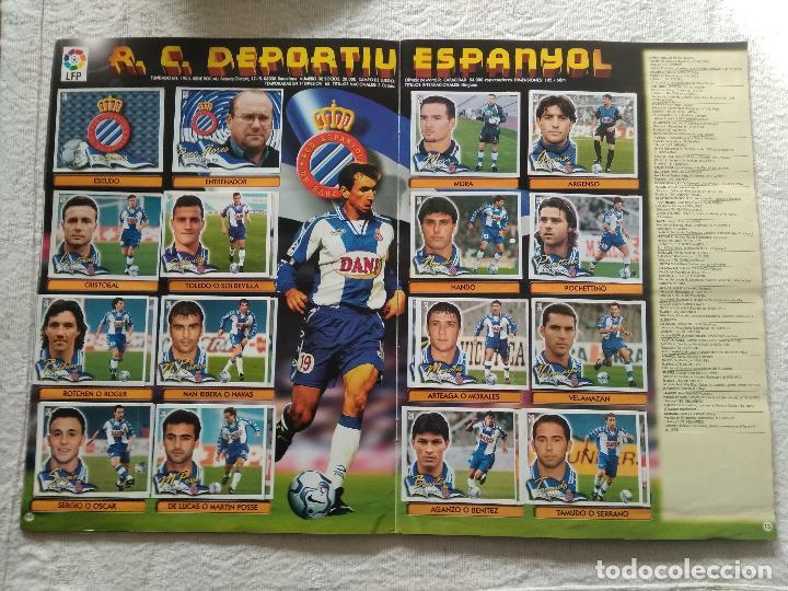 Coleccionismo deportivo: ALBUM CASI COMPLETO EDICIONES ESTE LIGA 00 01 2000 2001 VER FOTOS COMPLETAS - Foto 8 - 246039410