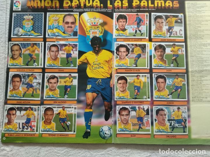Coleccionismo deportivo: ALBUM CASI COMPLETO EDICIONES ESTE LIGA 00 01 2000 2001 VER FOTOS COMPLETAS - Foto 9 - 246039410
