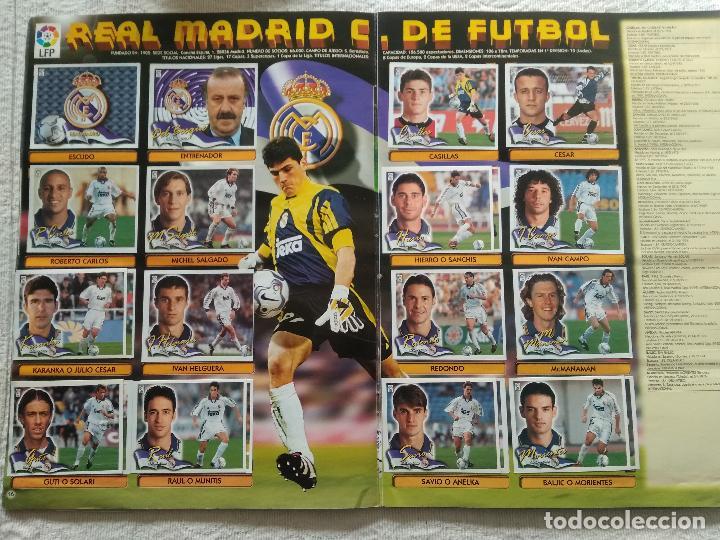Coleccionismo deportivo: ALBUM CASI COMPLETO EDICIONES ESTE LIGA 00 01 2000 2001 VER FOTOS COMPLETAS - Foto 10 - 246039410
