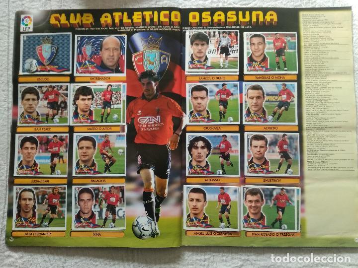 Coleccionismo deportivo: ALBUM CASI COMPLETO EDICIONES ESTE LIGA 00 01 2000 2001 VER FOTOS COMPLETAS - Foto 15 - 246039410